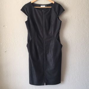 Calvin Klein dress with assymetrical side detail